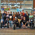 Elektromobilität begeistert Jugendliche der Unesco NMS Mondsee E-Moped ist klarer Sieger im Beschleunigungstest