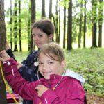 """Waldtag mit der VS Oberhofen im Rahmen des Projektes """"Waldzukunft Mondseeland"""""""